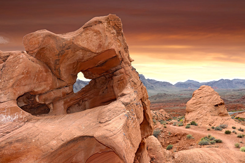 USA Nevada Ancient